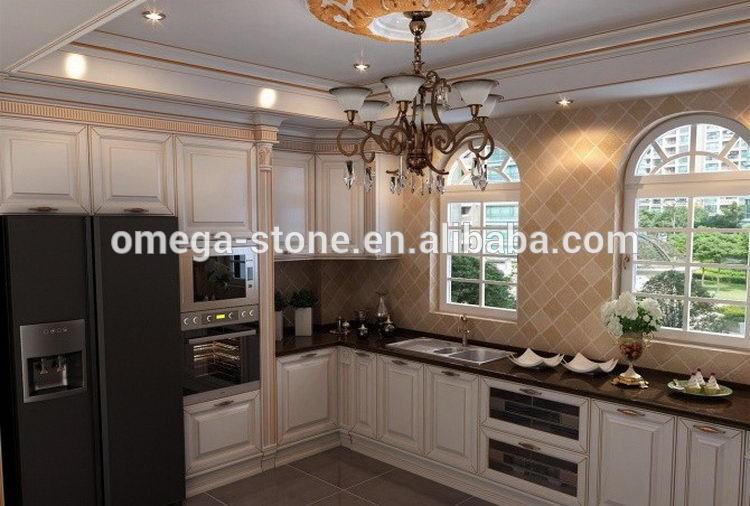 bonne qualité et meilleur vendre armoires de cuisine en bambou