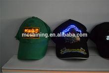 Large assortment advertising glitter baseball hat