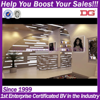 China latest design retail cheap modern hair salon furniture