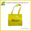 2014 Fashion color logo printed with zipper pvc beach bags