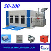 SB-100 china supplier bake oven booth/inflatable spray booth
