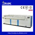 Máquina automática de engomar fabricantes( vapor, gás, electric aquecida calandra de rolo)