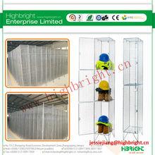 2 door steel mesh locker
