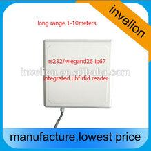 Mid-range Wiegand26 uhf rfid reader integrated antenna