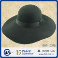 Nuevo estilo de fieltro de lana floppy sombreros / para mujer de fieltro de lana sombrero