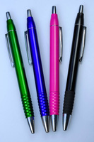 Full color printing metal clip ballpen