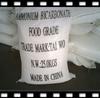 Ammonium bicarbonate food grade for beverage