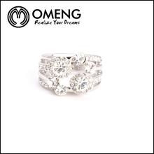 Hot Sell Pylones Kubota Piston 24k White Gold Ring