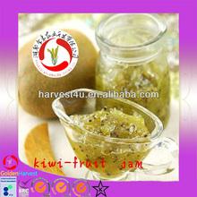 hot sale 210g canned natural fruit jam a kiwi fruit