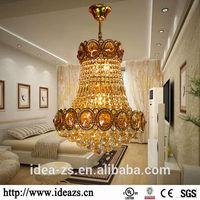 C99024 large gold chandelier earrings, screw in pendant light, led ceiling light crystall