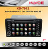 ISDB-T In Dash Car Dvd Player Android Car Radio 1 Din For A3