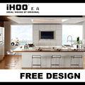 novo modelo de armário de cozinha pvc alemanha ak7621