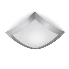 UL CUL CE white stainless steel and glass ceiling lamp for hotel bathroom