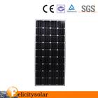 hot sale/reasonable price 150W Mono Black Panel PV Poly Solar Panel mono module
