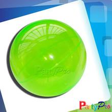 2014 Hot Sale Children Hollow Rubber Ball Novel Games Bouncing Clear Plastic Balls