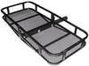 500LBS Bulk Foldable Black Powder Coated Car Cargo Carriers