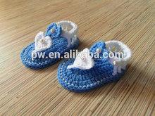 Handmade Baby Sandals Crochet Baby Shoes Newborn Photo Props