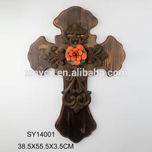 Home indoor decorative hot sale cross decoration for X'mas decor