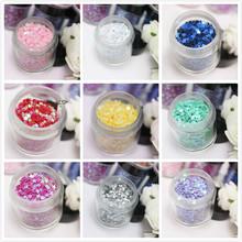 beauty and fashional nail glitter powder