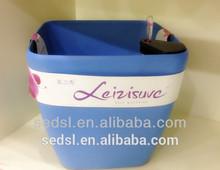 china supplier wholesale square plastic pot plant