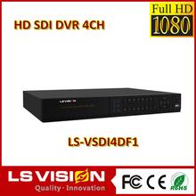 LS VISION 4 ch usb driver cctv dvr ir camera system grabador digital cctv d1 4 camaras