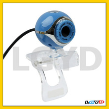 1.3 Mega Pixels USB 2.0 Driverless PC Camera / Webcam, Cable Length: 1.2m (Blue)