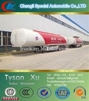 50tons, 3 axles aluminum alloy, bulk cement tanker trailer for sale