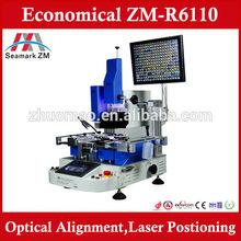 Hot sales ,optical alignment BGA rework station ZM-R6110 soldering machine for iphone 5s with optical bga reballing kit