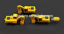 Tooling excavator USB flash drive, Crane Shaped Usb Cover sticks,Excavator Rubber USB Flash Drive pens 4gb 8gb