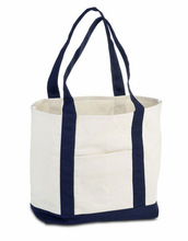 Handled Style and Cotton Material organic cotton canvas tote bag