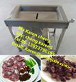 Molleja de pato máquina de pelar la mollejas de pollo / pollo mollejas peeling machine