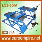 LXS-6000 New made in China alibaba cheap CE repair for hydraulic jack / hydraulic scissor car lift / CE scissor car lift