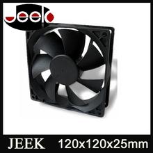 120mm 12v 0.1A dc plastic usb fan 120mm small axial flow fan