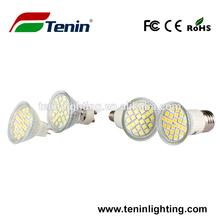 SMD5050 24leds smd led bulb shenzhen factory