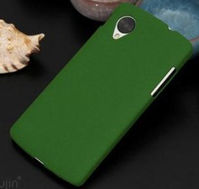 Free Shipping Ultra Slim Quicksand Matte Shell Case For Nexus 5 Hard Case Cover Shield For LG Google Nexus5