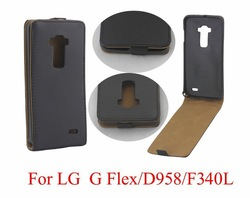 Luxruy Business Style Case For LG G Flex D958 F340 Flip PU Leather Case Cover,Free Shipping,Wholesale