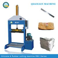 hot sale second-hand rubber cutter machine