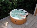 Pequena banheira redonda, promoção de vendas, spa ao ar livre, banheira de água quente, ce, aea, etl, tuv