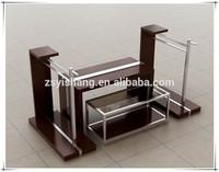 CHINA TOP10 Factory Sale!metal leg wood top school desk