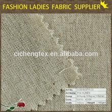 E shaoxing textile top quality 100% pure linen mens shirt fabric flax linen fabric