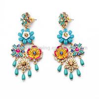 Modern handmade indian jhumka earring jewellery