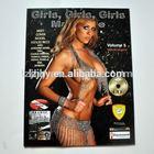 2014 Adult Magazines Custom playboy Adult Magazines Printing