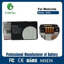 dry battery BT50 For Motorola W510 W5 W6 E2 Z6m K1m K3 E1000 V190 V235 V237 V323 V360 V1050 VE538