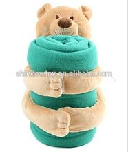 soft bear blanket white bear blanket soft plush blue blanket