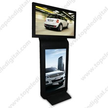 42 inch standing LCD advertising monitor ,double sided digital signage,standing LCD advertising monitor