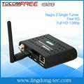 original tocomfree i928 digital tv cable set top box