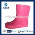 crianças sapatos de borracha baratos rosa bonito criança botas de chuva