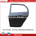 Toyota Yaris Auto Rear Door Replacement Parts