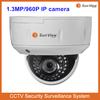 Alibaba best selling IP camera vandalproof IR dome surveillance 1.3 Megapixel IP camera manufacturer