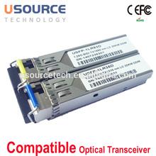 Factory Supply bidi sfp sff 1x9 xfp sfp+ gbic qsfp single fiber wdm module